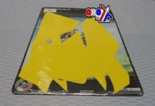New EXC KTM BLACKBIRD PRE-CUT BACKGROUNDS Yellow KTM EXC 08-11